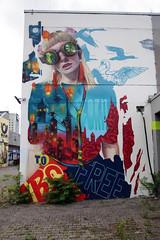 Urban- & Mural Art Spandau, Secret Spot Zwo (bsdphoto) Tags: streetart berlin kunst art urbanart muralart mural urbanarthall secretspotzwo spandau altepost postpackstation ausenaufnahme ausenansicht mücke32 deutschland