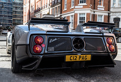 Pagani Zonda (Hunter J. G. Frim Photography) Tags: supercar hypercar london uk pagani zonda c12 s v12 italian manual coupe paganizondac12 paganizondas paganizonda