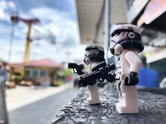 Amusing patrol...