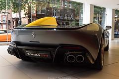 Rear (Hunter J. G. Frim Photography) Tags: supercar hypercar london uk ferrari sp1 v12 convertible rare carbon coupe ferrarisp1