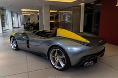 1 Passenger (Hunter J. G. Frim Photography) Tags: supercar hypercar london uk ferrari sp1 v12 convertible rare carbon coupe ferrarisp1