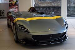Grin (Hunter J. G. Frim Photography) Tags: supercar hypercar london uk ferrari sp1 v12 convertible rare carbon coupe ferrarisp1