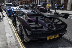 Wild (Hunter J. G. Frim Photography) Tags: supercar hypercar london uk mclaren senna british v8 turbo wing black amethyst mclarensenna twinturbo carbon