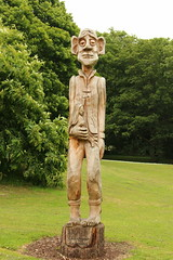 bowes museum (kokoschka's doll) Tags: bowes museum barnardcastle sculpture wood carving