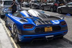 F1 OKW (Hunter J. G. Frim Photography) Tags: supercar hypercar london uk koenigsegg one1 blue matte wing carbon turbo swedish koenigseggone1