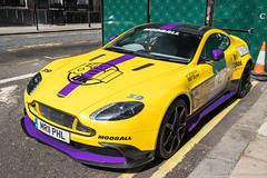 Mr Phil (Hunter J. G. Frim Photography) Tags: supercar hypercar london uk aston martin v8 vantage gt8 yellow wing carbon british coupe astonmartingt8 astonmartinv8vantagegt8