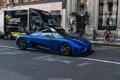 One:1 (Hunter J. G. Frim Photography) Tags: supercar hypercar london uk koenigsegg one1 blue matte wing carbon turbo swedish koenigseggone1