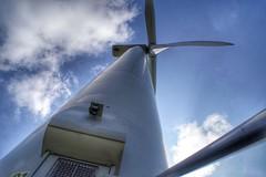 Wind Turbine at Scout Moor Wind Farm (Gidzy) Tags: winfturbine winffarm renewbles environment windpower lanchasire scoutmoor towering lookup norden rochdale manchester greatermanchester sony sonyuser sonyalpha sonya77ii sonyslt