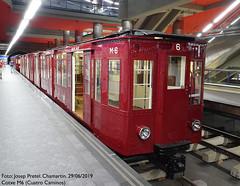 Metro Madrid M6 (pretsend (jpretel)) Tags: metro madrid cuatro caminos alargados m6 r6 centenario