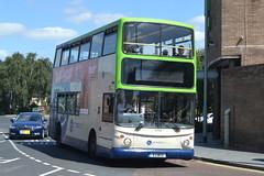 Rotala Preston Bus Dennis Trident 40006 K3WSX - Preston (dwb transport photos) Tags: rotalaprestonbus dennis trident alexander alx400 bus decker 40006 k3wsx preston
