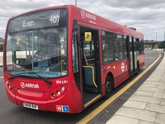 Clapped out Dart on a route that mainly follows the North Kent Lone with a good detour. | Arriva South London ADL Enviro 200 Dart on the 469 to Erith. (alexpeak24) Tags: gn58gup erith queenelizabethhospital 469 dart enviro200 alexanderdennis london arriva