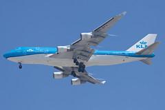 KLM Royal Dutch Airlines Boeing 747-400M PH-BFV (jbp274) Tags: lax klax airport airplanes klm kl royaldutchairlines boeing 747