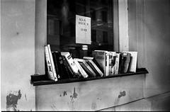 Books (Berggren81) Tags: leica m4 sv blackwhite tmax400 analouge ishootfilm summilux35mm street semester