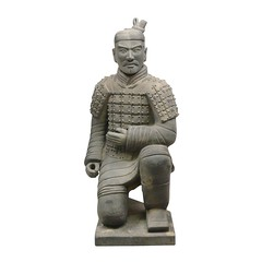 Statue guerrier Chinois de Xian Archer 185 cm (HTDECO FR) Tags: statue xian en terre cuite