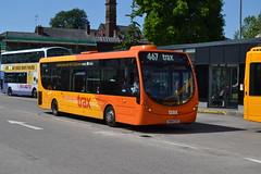 Transdev Rosso 605 SN64CSZ (Clifton009) Tags: transdev rosso 605 sn64csz wrightbus streetlite