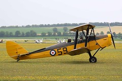 1940 de Havilland DH.82A Tiger Moth G-ARAZ / 59 - Flying Legends 2019 - Duxford (anorakin) Tags: 1940 dehavilland dh82a tigermoth garaz 59 flyinglegends 2019 duxford