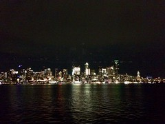 Heading to Werk (Kevin Turinsky) Tags: citylights nightshift commute ferry pugetsound seattle salish