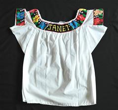 Maya Blouse Mexico Tabasco Chontal Textiles (Teyacapan) Tags: maya chontal tabasco mexican ropa clothing blusa blouses embroidery