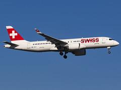 Swiss International Air Lines | Bombardier CSeries CS300 | HB-JCJ (MTV Aviation Photography) Tags: swiss international air lines bombardier cseries cs300 hbjcj swissinternationalairlines bombardiercseriescs300 londonheathrow heathrow lhr egll canon canon7d canon7dmkii