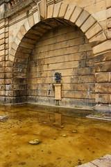 bowes museum (kokoschka's doll) Tags: bowes museum barnardcastle arch wall pond