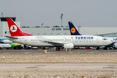 TC-JEU (PlanePixNase) Tags: aircraft airport planespotting haj eddv hannover langenhagen turkish turkishairlines boeing 737 737400 b734