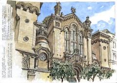 Iglesia Sagrado Corazón (Daniel Castro Alonso) Tags: arquitectura apuntes barcelona