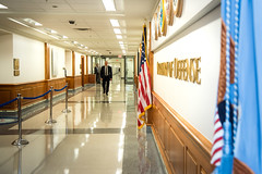 190715-D-SV709-0013 (Office of the Secretary of Defense - Public Affair) Tags: departmentofdefense pentagon actingsecretaryofdefense firstday office arrival richardvspencer richardspencer navy dc usa