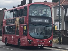 Former Tottenham diesel on a medium length, residential and jagged route. | Arriva South London Wright VDL DB300 working the 401 to Thamesmead. (alexpeak24) Tags: lj11abx thamesmead bexleyheath 401 diesel db300 vdl london arriva