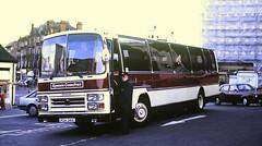 Slide 143-78 (Steve Guess) Tags: kingstonuponthames kingston surrey england greater london gb uk bus surbiton station forecourt epsom coaches leyland leopard plaxton pgh341v