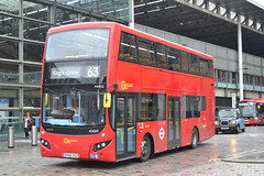 Go-Ahead London Central MHV52 BV66VGZ (Will Swain) Tags: london st pancras 13th june 2019 greater city centre capital south bus buses transport transportation travel uk britain vehicle vehicles county country england english goahead central mhv52 bv66vgz