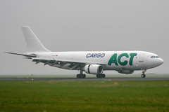 TC-ACU (PlanePixNase) Tags: amsterdam ams eham schiphol planespotting airport aircraft act cargo airbus 300 a300
