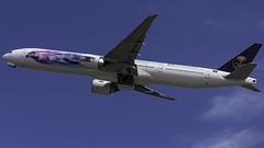 HZ-AK43_JFK_Takeoff_04L_Saudia_AD_Diriyah_E-Prix (MAB757200) Tags: saudiarabianairlines b777300er hzak43 abbformulae saudiaddiriyaheprix aircraft airplane airlines airport boeing jetliner jfk kjfk takeoff runway04l