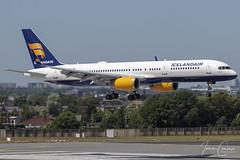 Boeing 757-256 – Icelandair – TF-ISV – Brussels Airport (BRU EBBR) – 2019 07 04 – Landing RWY 01 – 01 – Copyright © 2019 Ivan Coninx (Ivan Coninx Photography) Tags: ivanconinx ivanconinxphotography photography aviationphotography boeing boeing757 boeing757200 boeing757256 757 b757 757200 b757200 757256 b757256 752 b752 icelandair grabrok brusselsairport bru ebbr tfisv aviation livery mystopover