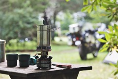 RHM_0179 (V-rider) Tags: coleman stove backpacking camping cook tent motorcycle campsite campground rhm ralph vrider97 jane wife adventure brp ride travel joy summer 2019 issacs bannerelk franklin sylva sugar beech grandfathermtn journey