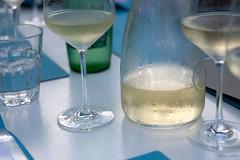 croatian food_wine (seppi_hofer) Tags: croatia kroatien food essen table tisch dishes speisen summer sommer drinks getränke wine wein water wasser