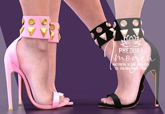 "Phedora. for Kustom9 - ""Imogen"" heels ♥ (Celena Galli ~ phedora.) Tags: sl secondlife second life phedora 3d mesh shoes brand heels platforms shoewear womenswear pumps woman women sexy sassy stylish classy cute chic kinky kawaii fashion event monthly events original content 100mesh new release newrelease meshbody hud multihud maitreya lara belleza isis freya venus slink hourglass physique shopping shopaholic shappaholic straps ankle booties streetwear cuffs ankleboots urban funky heel strappy style strappyheels kustom9 k9 kustom kustom9event"