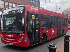 Direct and fairly fast single deck route with a mix of old and new if not a frequent service. | Arriva South London ADL Enviro 200 Dart working the B15 to Horn Park. (alexpeak24) Tags: gn58buu hornpark bexleyheath b15 dart enviro200 alexanderdennis london arriva