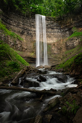 Tews Falls (Chris Noronha Photo) Tags: canada chrisnoronhaphotography hamilton nikond850 ontario spencercreek spencergorge spring tewsfalls waterfall foliage green hike landscape nature outdoor water