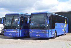 YJ57 BOV + YJ57 BTX: Lockwood t/a BL Travel, Hemsworth (chucklebuster) Tags: yj57bov yj57btx lockwood bl travel vdl sb4000 van hool alizee