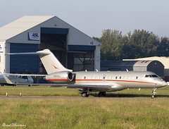 VistaJet American Global 5000 N504VJ (birrlad) Tags: shannon snn international airport ireland aircraft aviation airplane airplanes bizjet private passenger jet parked apron ramp n504vj bombardier bd7001a11 global 5000 gl5t vistajet american