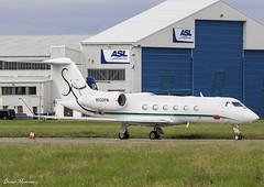 EBTS LLC. G450 N530PM (birrlad) Tags: shannon snn international airport ireland aircraft aviation airplane airplanes bizjet private passenger jet parked apron ramp ebts llc n530pm gulfstream aerospace givx g450 glf4