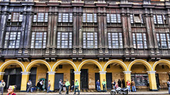 COLONIAL BUILDINGS, LIMA, PERU (deepfoto) Tags: panasonic lima peru architecture