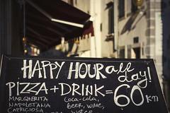 Porec - happy hour (fivik) Tags: porec restaurant happyhour food eat street city croatia nikon d7200 unesco