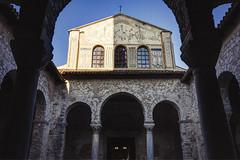 Porec - Euphrasian Basilica (fivik) Tags: porec basilica euphrasian unesco worldheritage history old church croatia city nikon d7200