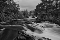 Low Force (daveseargeant) Tags: waterfall low force teesdale durham water river tees leica x typ 113 long exposure bowlees monochrome mono black white blackwhite
