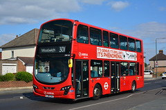DW485 - 301 Woolwich (3) (Gellico) Tags: london tfl bus route 301 arriva woolwich bexleyheath