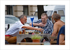 Challenger (prendergasttony) Tags: action beer colourful d7200 nikon europe frame game championship chess three tonyprendergast prague praha bohemia july june outdoors urban street vacation czechrepublic czech republic