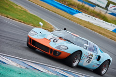 Ford GT40 replica, GP historique du Pas de Calais 2019 (Thibault Gaulain) Tags: voiture car course racing race motor sport motrsport wheel engine grassroot amateur nikon d7200 55300 summer outdoor outside nord north pas de calais crois en ternois croix track circuit old vintage ancienne anciennes voitures event évènement été france vitesse speed ford gt gt40 replica gulf blue orange colours colors