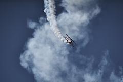 Going Down (loriels) Tags: tamron 150600mm mc11 plane sky