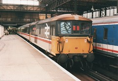 73124 London Victoria 1987 (clivepsmithmarch1960) Tags: 73124 londonvictoria
